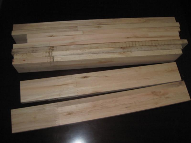 供应用于实木线条的按木指接条