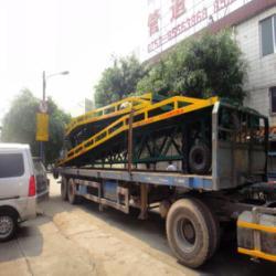 供應移動叉車升降式裝卸平台生産龍頭廠