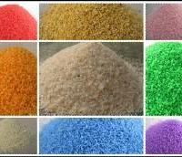 供应河北染色彩砂厂家加工值得信赖,天然彩砂,真石漆彩砂批发价格最优惠