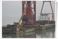 供应水库维修工程水中打捞工程
