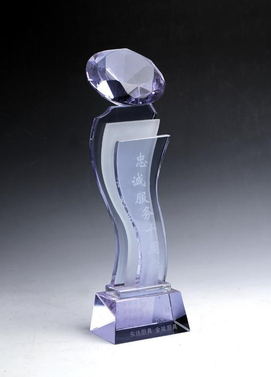 西安水晶奖杯制作商销售
