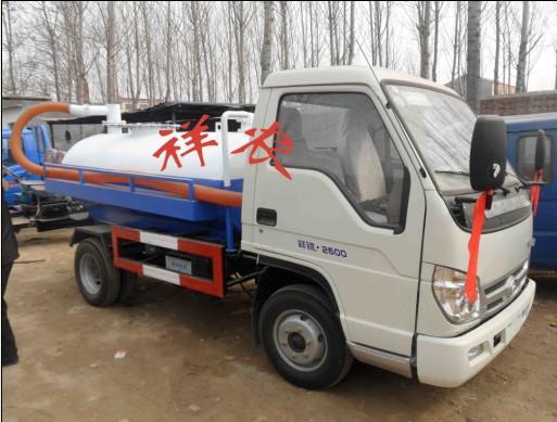 供应江苏苏州东风吸污车在哪里买 改装吸粪车 4立方福田抽粪车 吸粪车