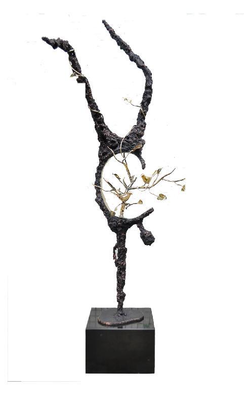 铁艺景观雕塑铁艺摆件销售