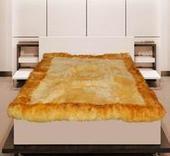 供应羊毛床毯批发批发