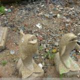 供应年年有鱼 石鱼雕刻 喷水石雕雕刻工艺品  动物石雕