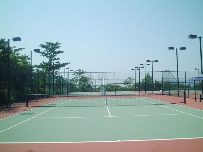供应福建硅PU网球场