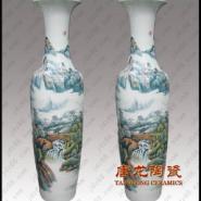 春节礼品陶瓷大花瓶高档商务礼品图片