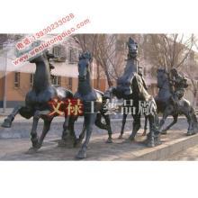 马踏飞燕-古代青铜器-铜雕工艺品-铜雕马雕塑-铸铜马厂家批发价格