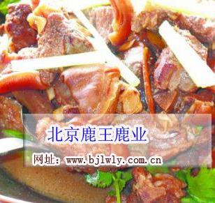 金鹿送福-鹿肉吃法与鹿肉价格图片
