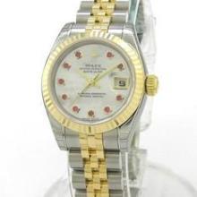 供应劳力士机械女表 10颗红宝石女表 瑞士机芯机芯手表
