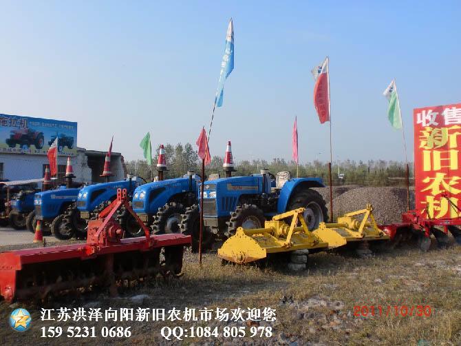 东风904配驾驶室拖拉机9成新 拖拉机价格 江苏向阳二手农机高清图片