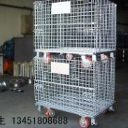 挂板架仓储笼料箱钢托盘登高车供应图片