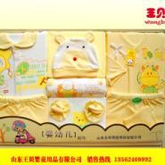 王贝儿婴儿装礼盒豪华纯棉八件套图片