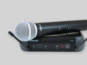美国shure无线话筒图片