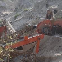 供应碎石生产线全套设备碎石破碎筛分机图片