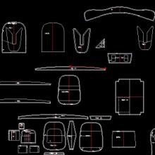供应浙江手袋CAD软件