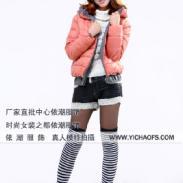 富民服装城最新款韩版女装棉衣图片