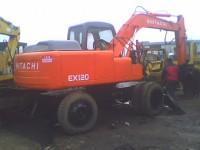 供应用于工程用的80轮胎挖掘机