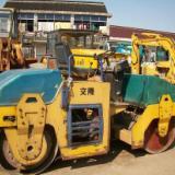供应二手小型双钢轮压路机,压草坪必备产品