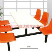 北京廉价优质学生食堂餐桌椅图片
