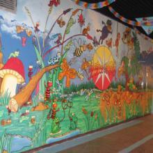 供应广州幼儿园手绘墙艺,广州幼儿园手绘墙艺公司电话批发