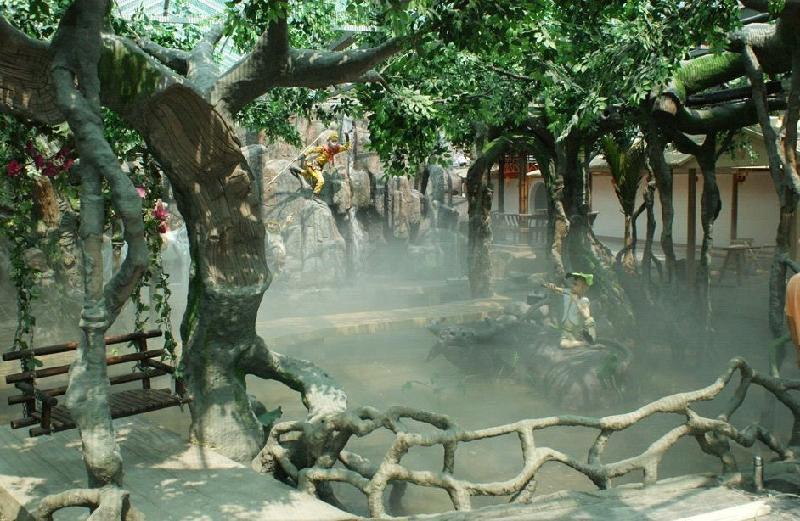 假树装饰_合肥假树制作_假树制作