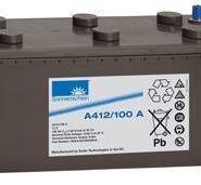 昆明阳光蓄电池A412/120A图片