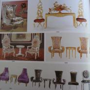 餐桌餐椅餐台包布椅将军椅图片