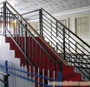 锌钢无焊接式阳台护栏组合防盗窗图片