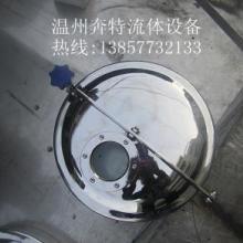 供应浙江厂家生产卫生级带视镜常压人孔批发