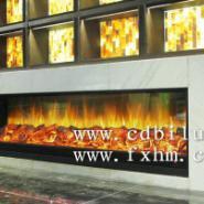 上海1号量贩式KTV装饰工程伏羲壁炉图片