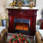 成都本土欧式壁炉设计定制装饰图片
