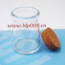 供应广州软木塞奶瓶工艺玻璃瓶批发
