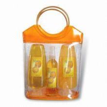 供应揭阳PVC化妆品袋PVC胶骨袋PVC环保袋图片