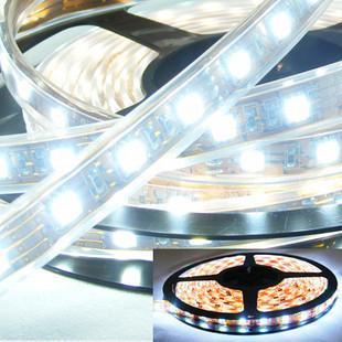 供应3528RGB60灯软灯条图片