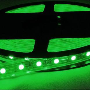 供应5050软灯条绿光一米60灯图片