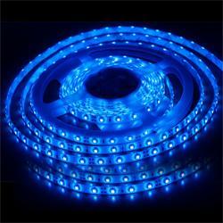 供应5050软灯条紫光一米60灯图片