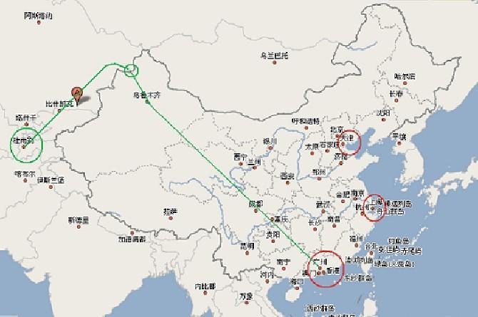 供应香港到Tashkent塔什干散货整柜铁路图片