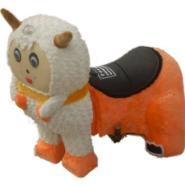 儿童电动毛绒动物玩具图片