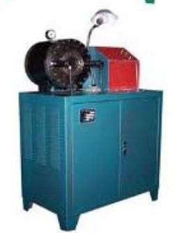 供应山东高压胶管扣压机