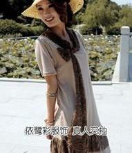 最流行女装韩版V领无袖冰丝棉裙高档真丝连衣裙花纹蕾丝裙批发批发