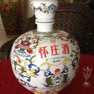 怀庄景德镇封坛酒图片