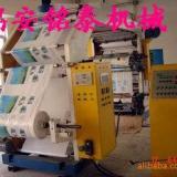 供应4色塑料薄膜柔版印刷机