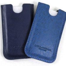 厂家供应iphone4代手机皮套 十字纹真皮手机套 直板手机套