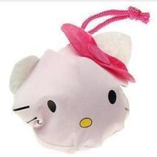 供应猫咪折叠袋动物环保购物袋卡通动物手提包环保印花批发