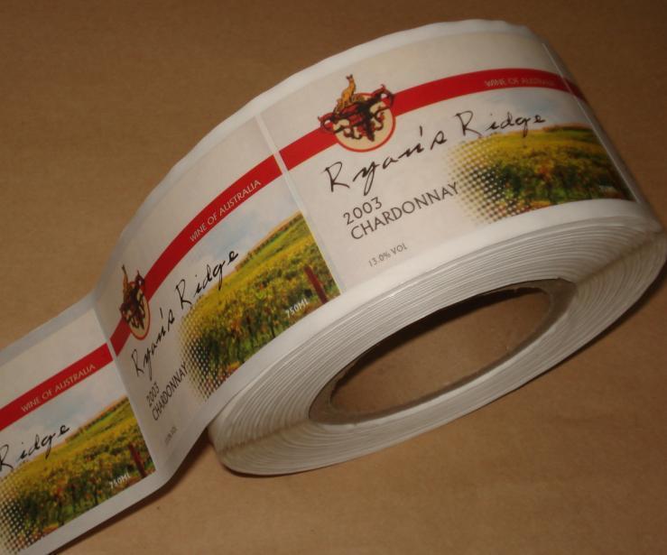 合成纸不干胶标签印刷图片|合成纸不干胶标签印刷