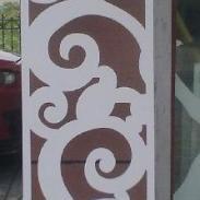 J03密度板/PVC/隔断/背景墙/屏风图片