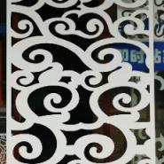 J70雕花板/PVC镂空板/隔断背景墙图片