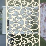 供应J35雕花板/PVC镂空板/背景墙/烤漆