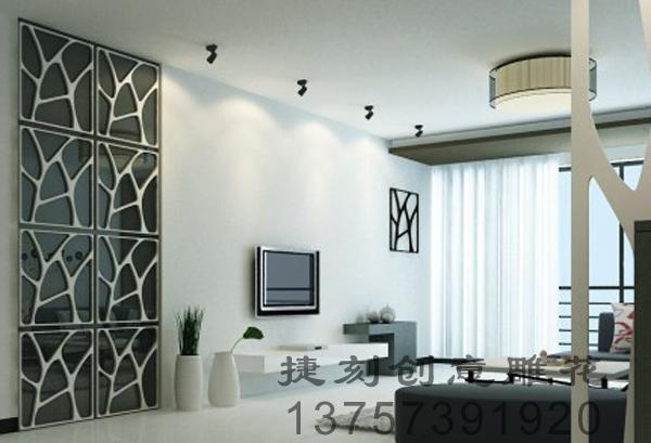 供应J47雕花板/PVC镂空板/背景墙隔断